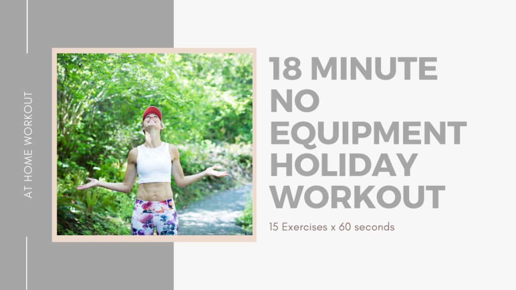 18 minute No Equipment Hotel Room Workout - NO EQUIPMENT WORKOUT, HOTEL ROOM WORKOUT, EXERCISE IN SMALL SPACES, TOTAL BODY NO EQUIPMENT WORKOUT