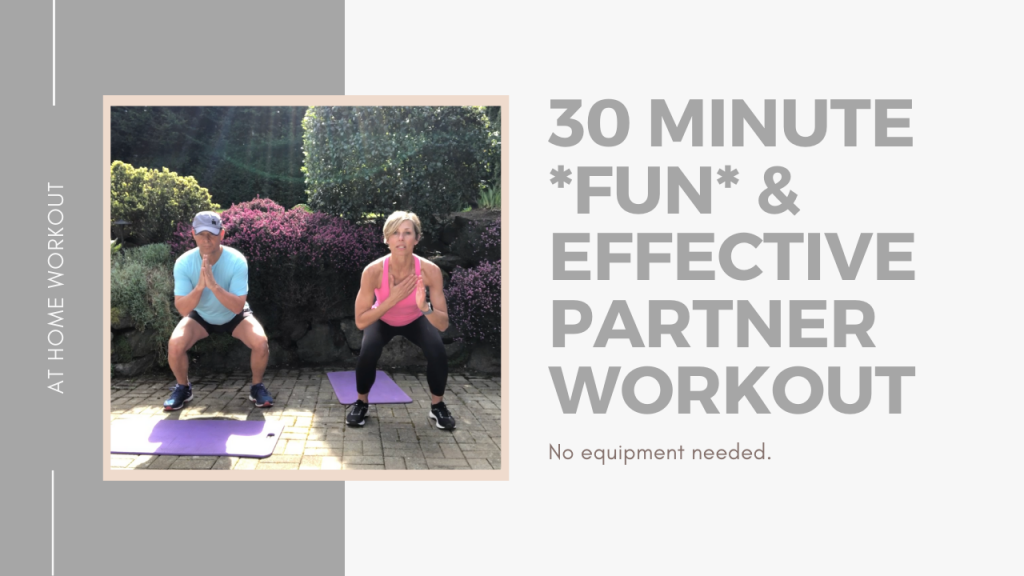 30 minute partner workout 1 -  PARTNER WORKOUT, NO EQUIPMENT WORKOUT, FAMILY WORKOUT, OUTDOOR WORKOUT