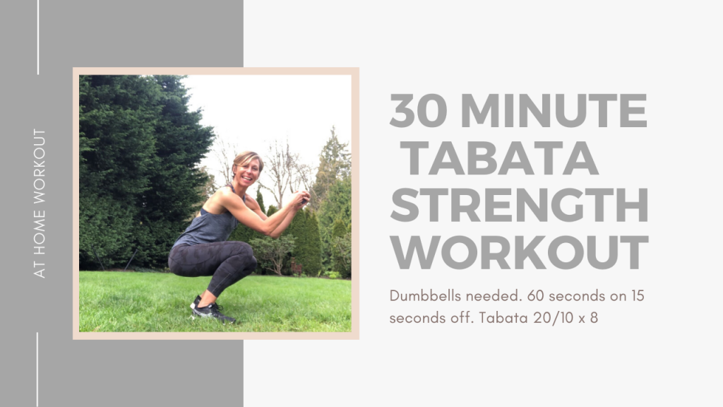 30 Minute Tabata and strength interval workout - TABATA WORKOUT, INTERVAL WORKOUT, STRENGTH WORKOUT, ADVANCED WORKOUT