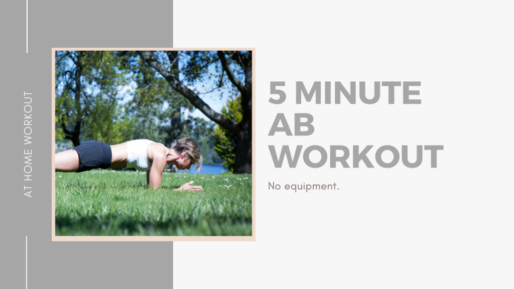 5 Minute Core Workout
