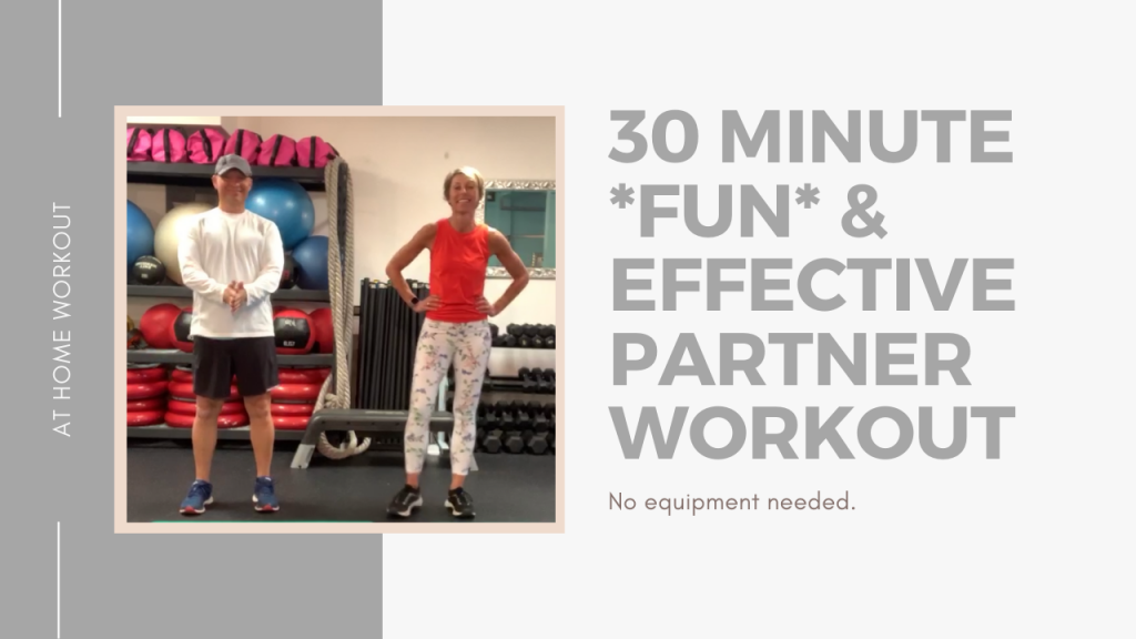 30 Minute Partner Workout 2 - PARTNER WORKOUT, NO EQUIPMENT WORKOUT, FAMILY WORKOUT, OUTDOOR WORKOUT