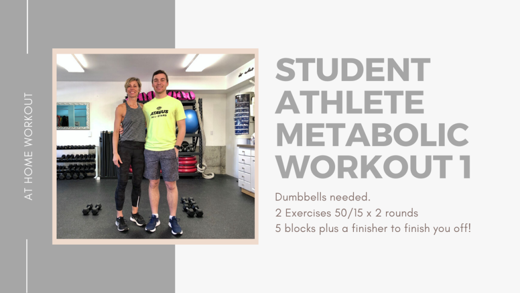 25 minute High School/College Athlete metabolic workout with a testy finisher at the end - STUDENT ATHLETE WORKOUT, 30 MINUTE WORKOUT, METABOLIC WORKOUT, ADVANCED WORKOUT, DUMBBELL WORKOUT